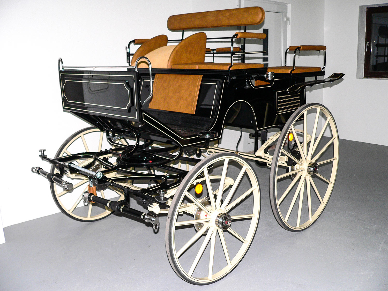 Leitner Kutschen Wagonette 34E vorne